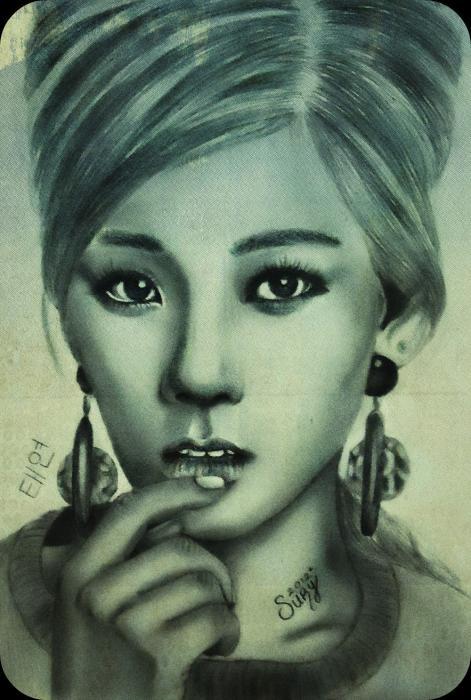 Taeyeon par Sury